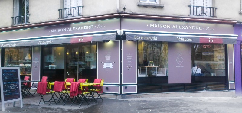photo boutique facade maison alexandre